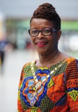 Yvonne Newbold Dr Cecilia Anim