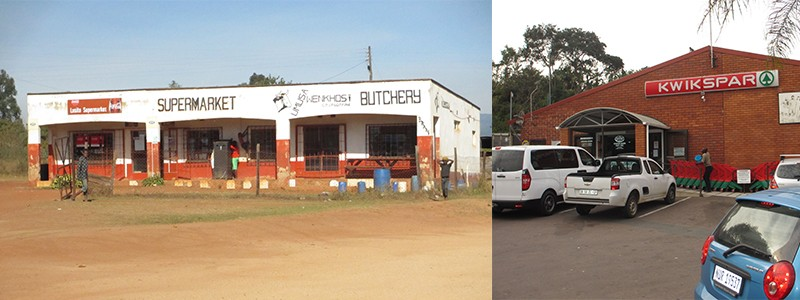 Supermarkt Zuid-Afrika