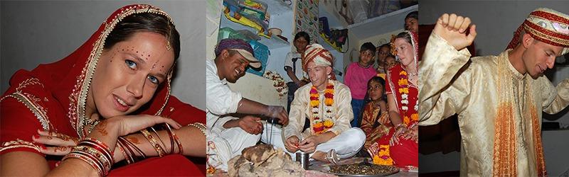 trouwen in Pushkar