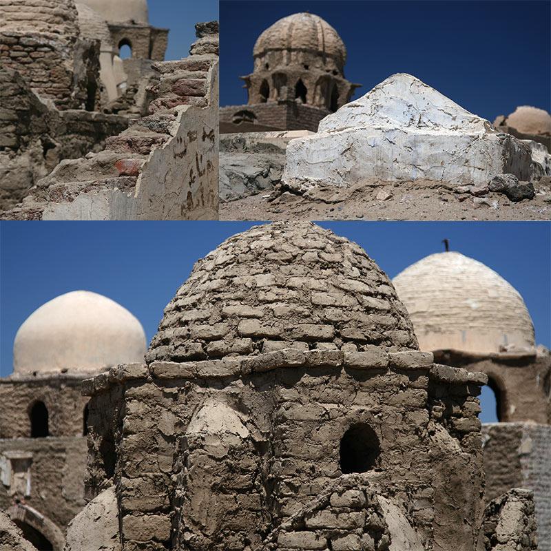 Fatemid begraafplaats Aswan