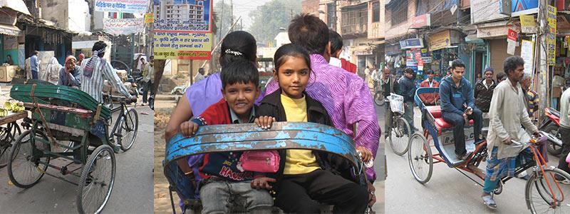 India fietsriksja