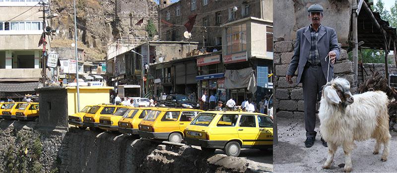 Taxi's Oost-Turkije