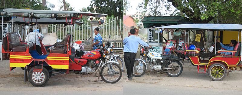 Tuktuk in Azie