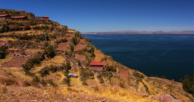 Titicaca meer dan Uros alleen