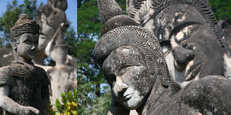 Xieng Khuan Buddhapark Vientiane