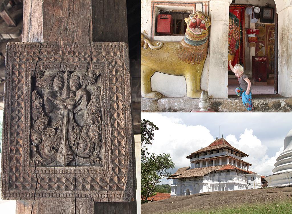 3 temple loop Kandy Sri Lanka