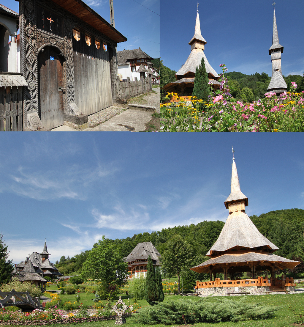 Barsana monastery Iza vallei