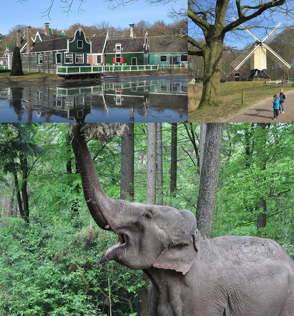 Burgers zoo en Openluchtmuseum Arnhem
