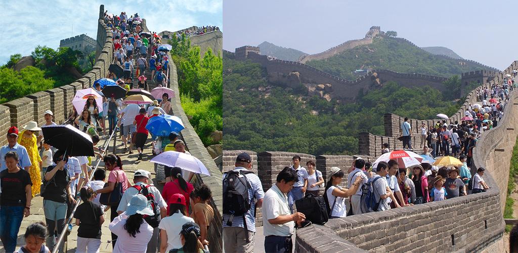 Chinese muur Badaling