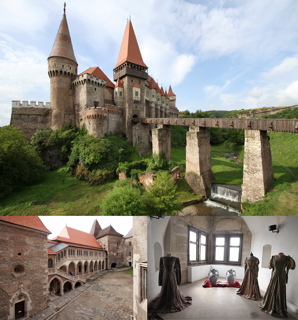 Corvin kasteel Hunedoara