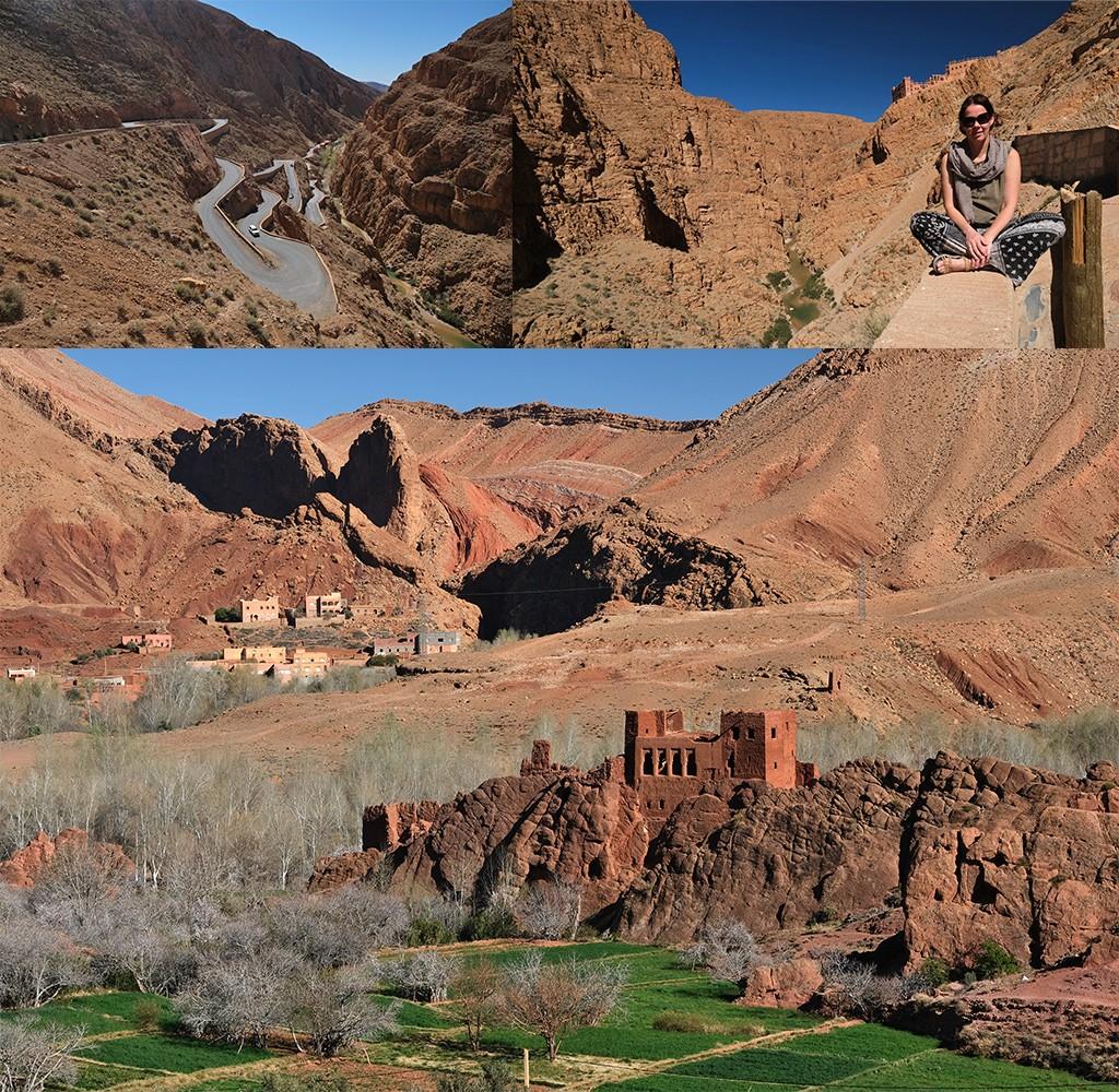 Dades kloof Marokko
