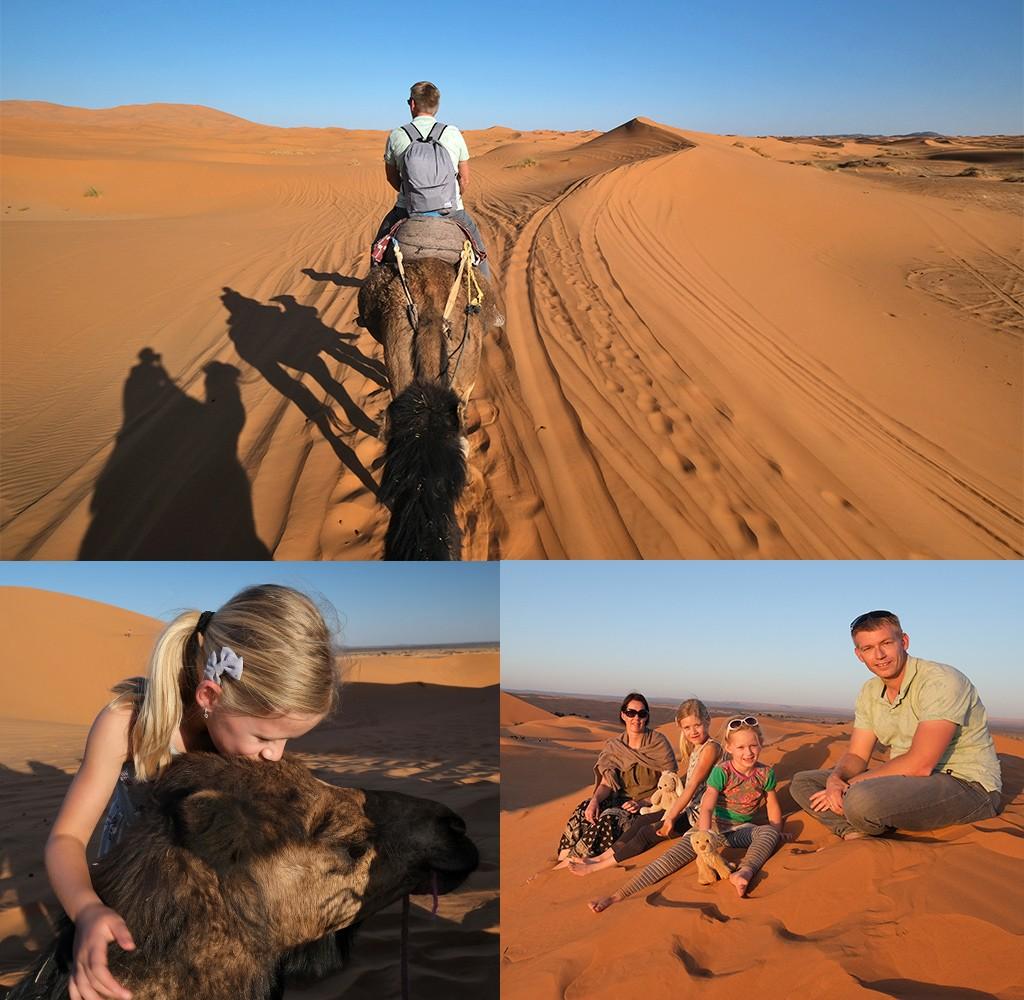 De Sahara Merzouga Erg Chebbi