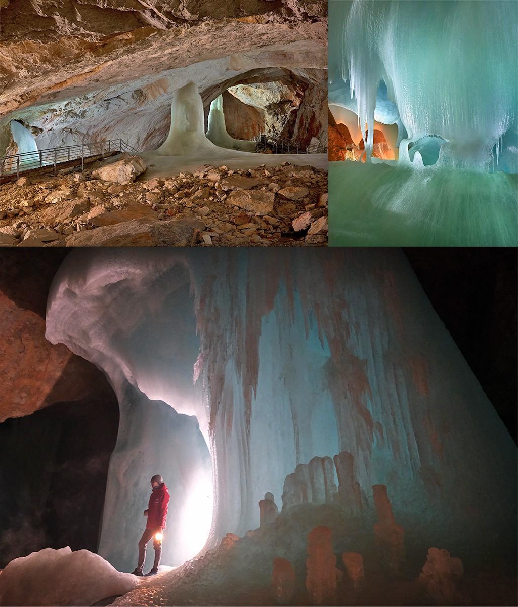 Eisriesenwelt de grootste ijsgrot ter wereld