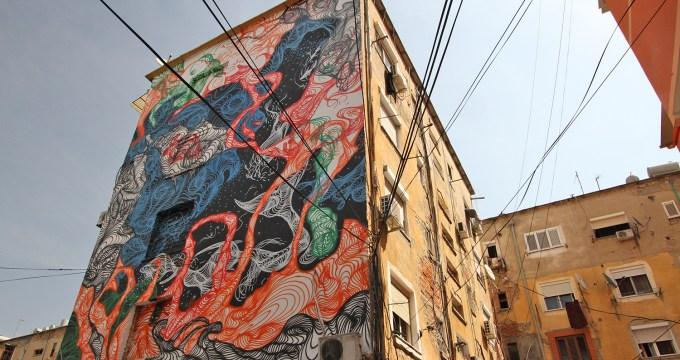 In Tirana zien en doen - streetart