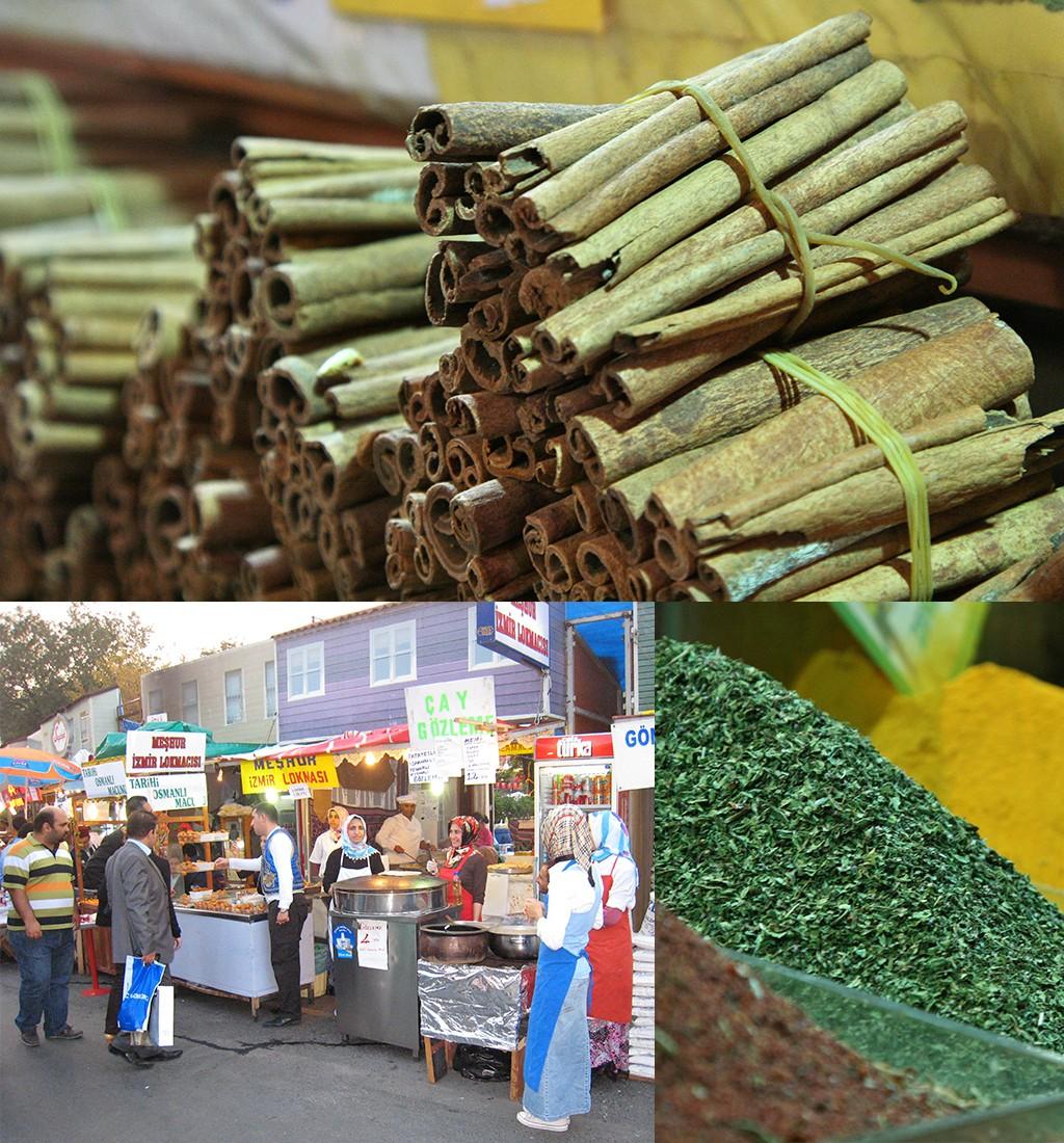 Istanbul markten en Aziatische kant