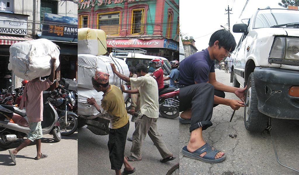 Kathmandu taxi