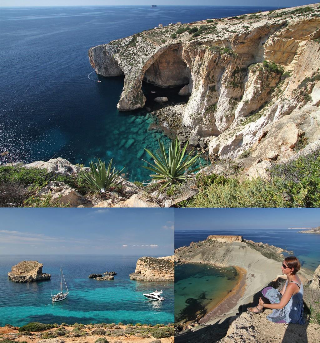 Malta bezienswaardigheden natuur en strand