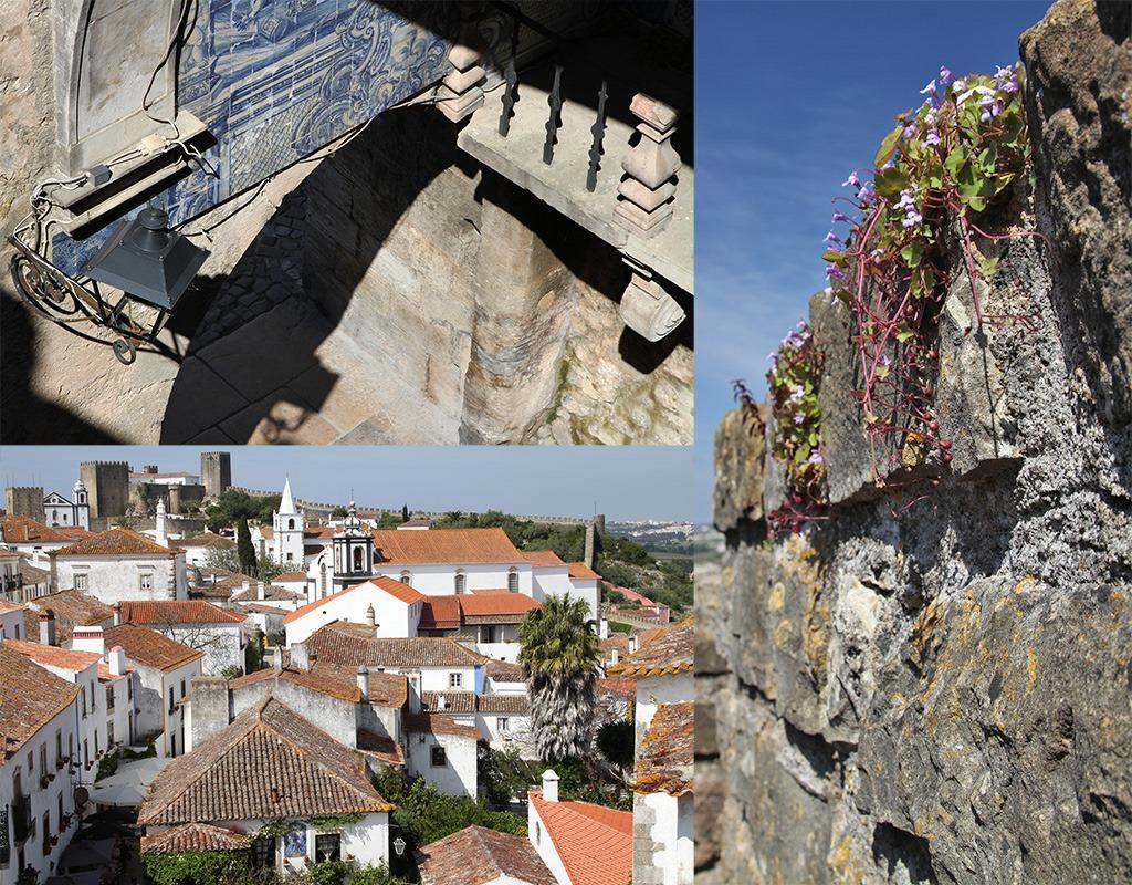 Óbidos vanaf de stadsmuur