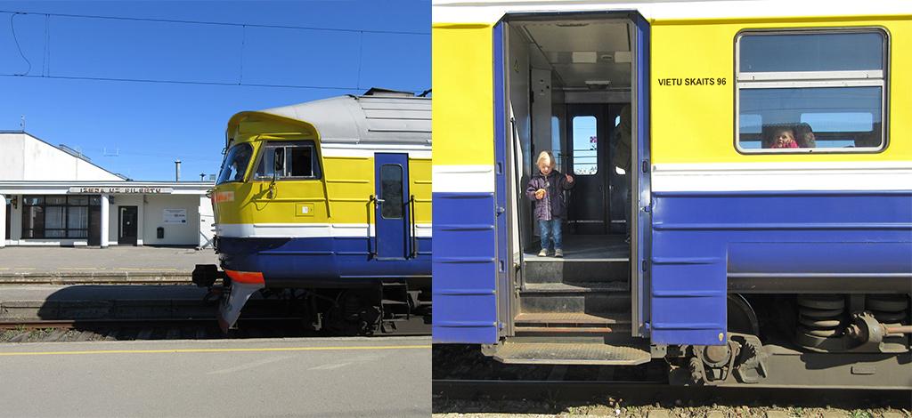 Riga Sigulda trein