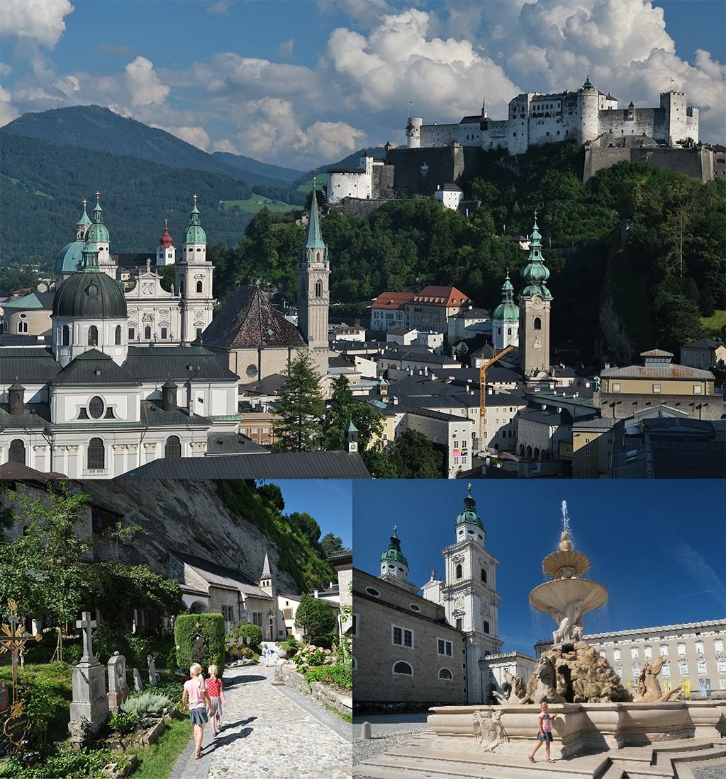 Salzburg zien en doen in Salzburgerland