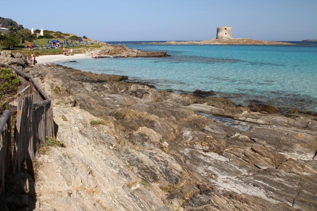 Sardinië La Pelosa strand