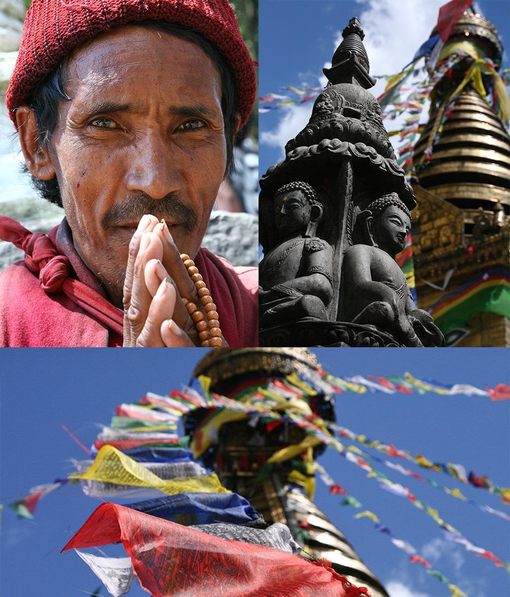 Swayambhunath Tempel Kathmandu