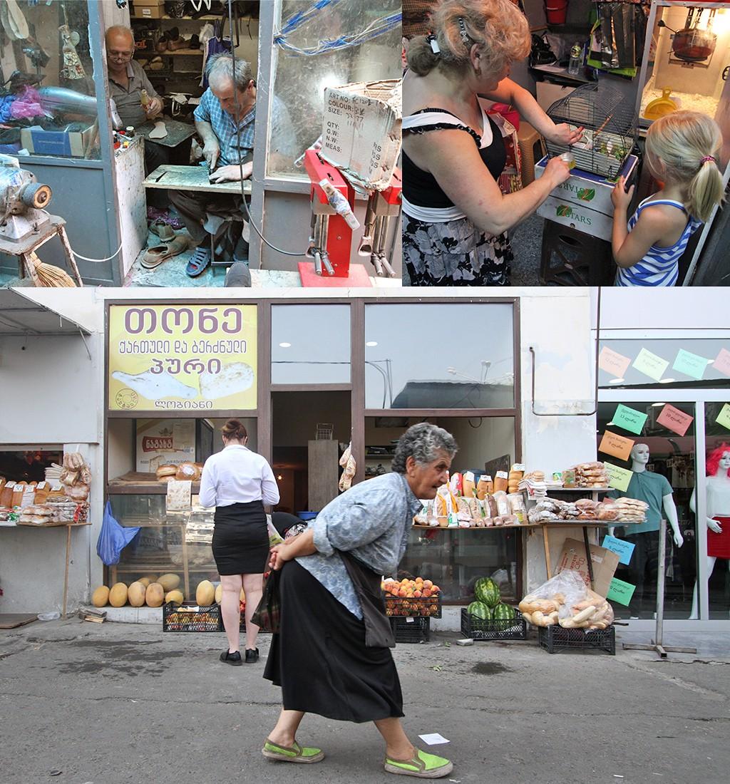 Tbilisi markten