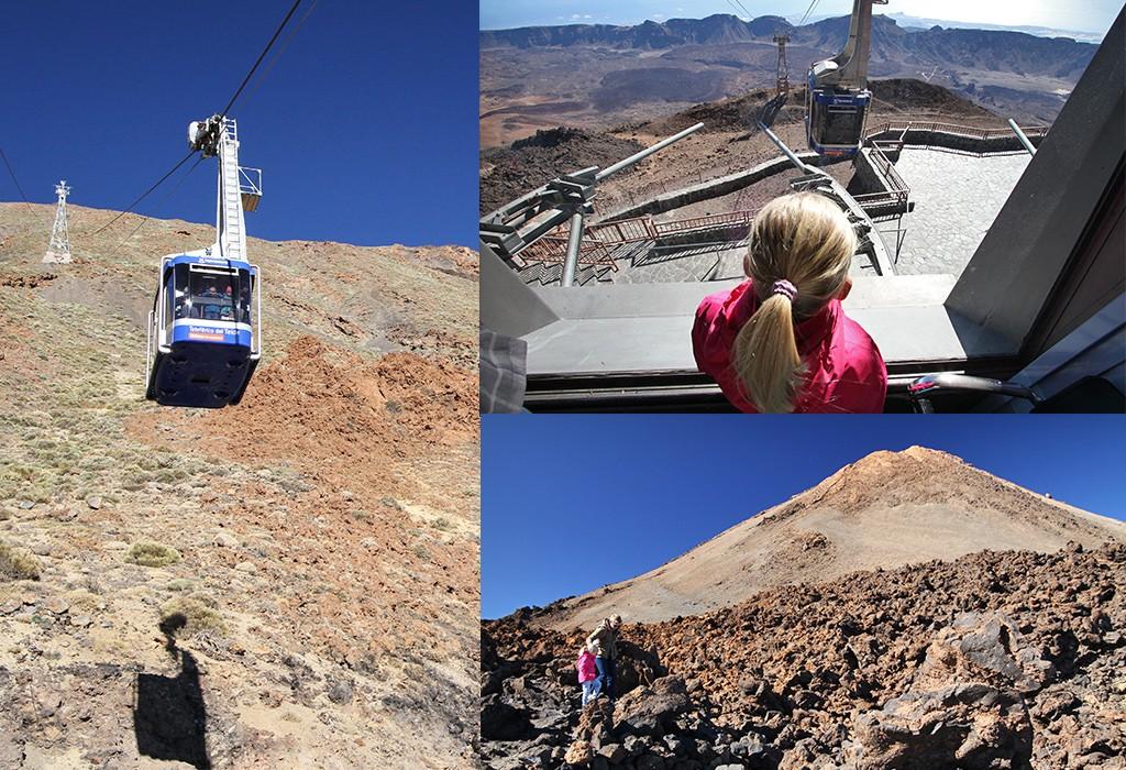 bezienswaardigheden Tenerife - Teide kabelbaan