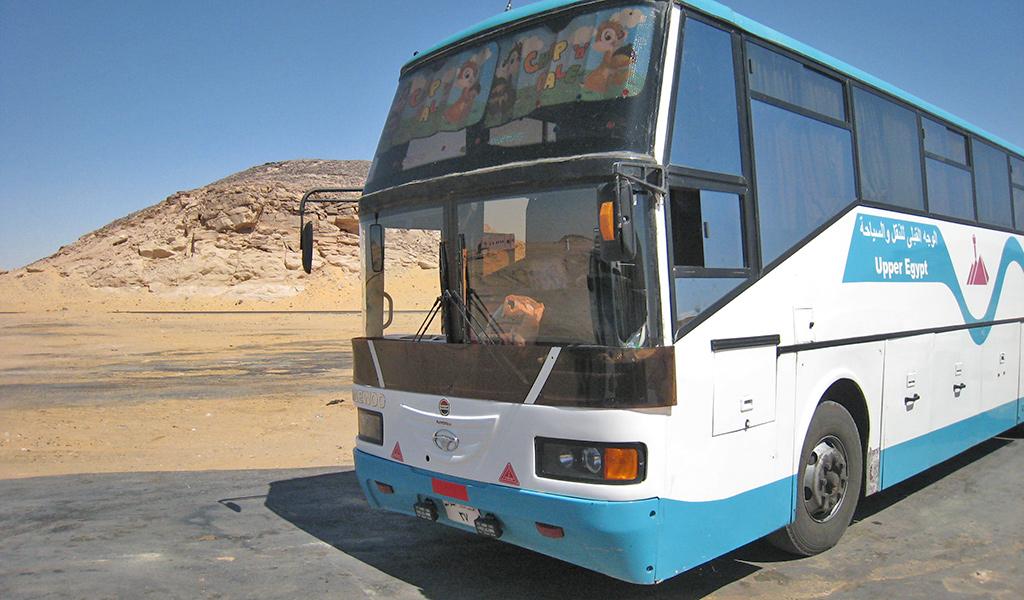 bus Aswan Abu Simbel
