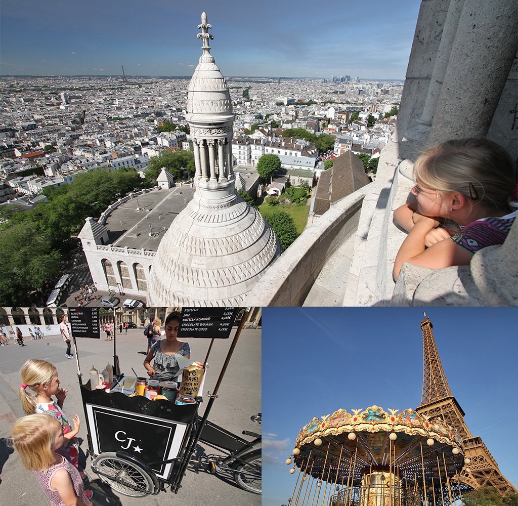 doen in Parijs met kinderen