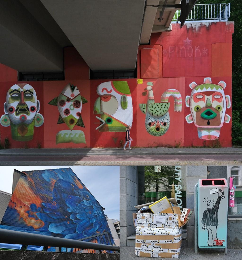 eerste street art Heerlen