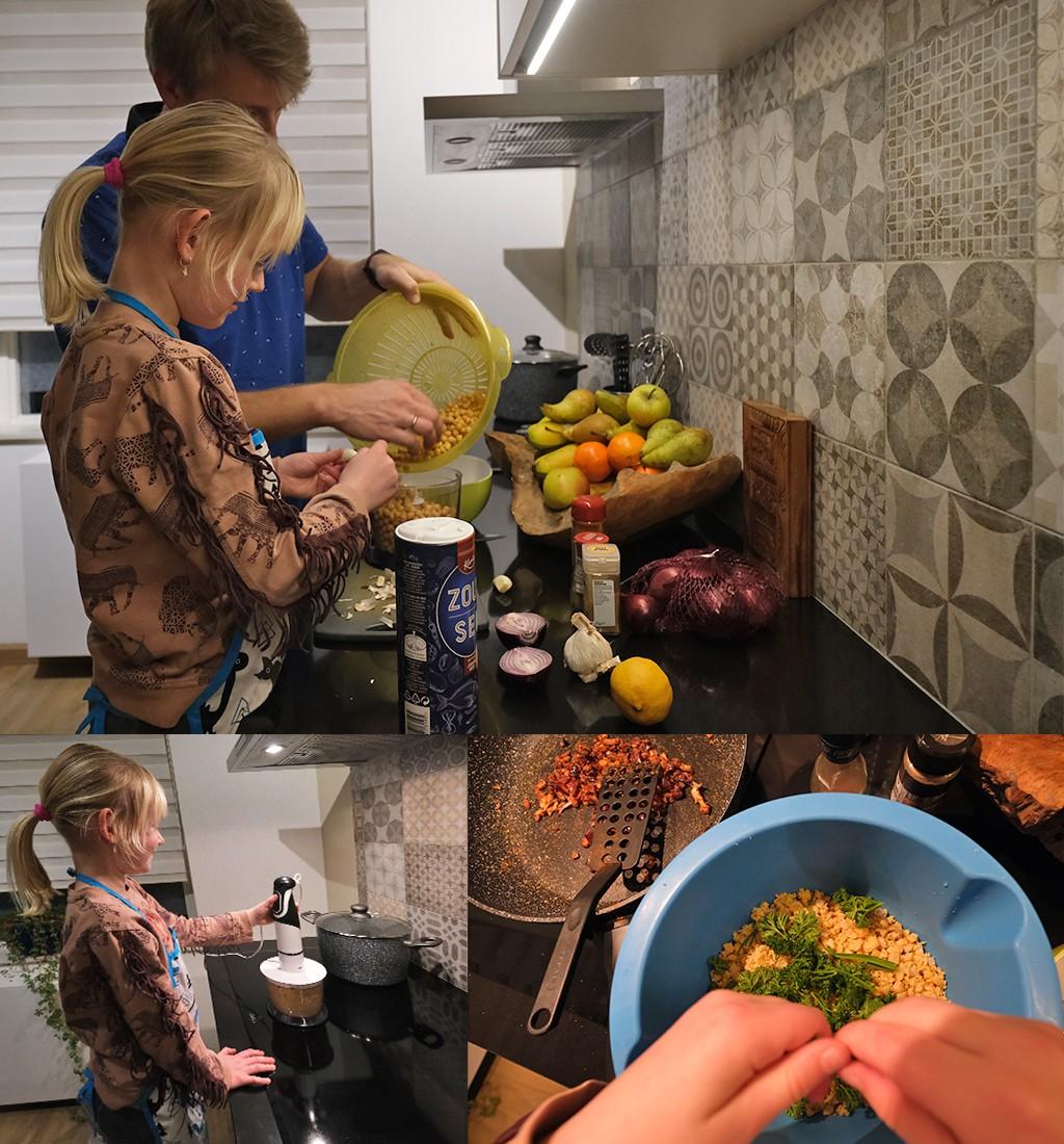 falafel met kikkererwten uit blik