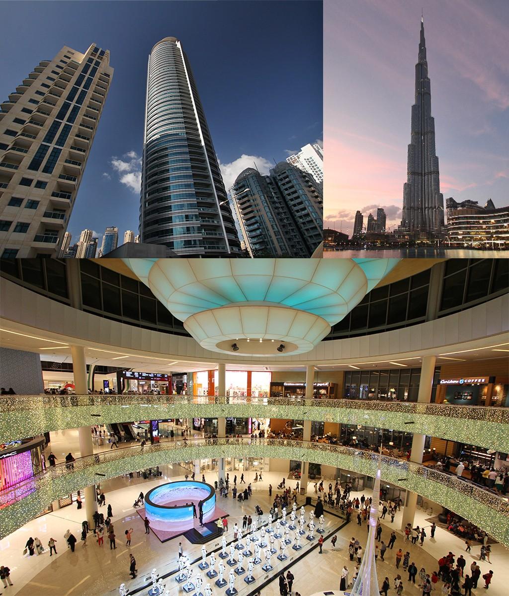 grote afstanden in modern Dubai