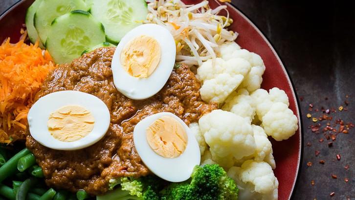 het lekkerste eten ter wereld - gado gado