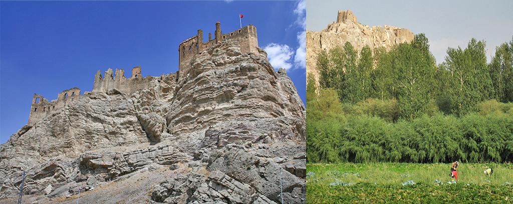 kasteel Van in het Oosten van Koerdistan