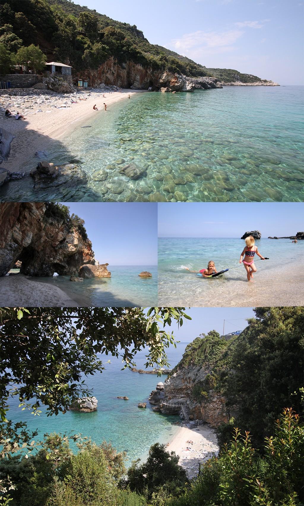 mooiste stranden Pilion - Milopotamos