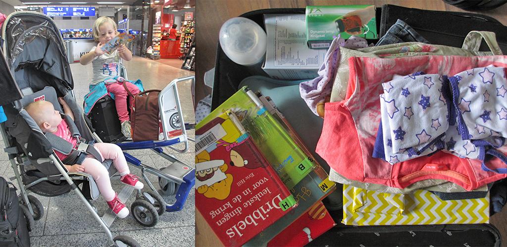 reizen met kinderen - bagage