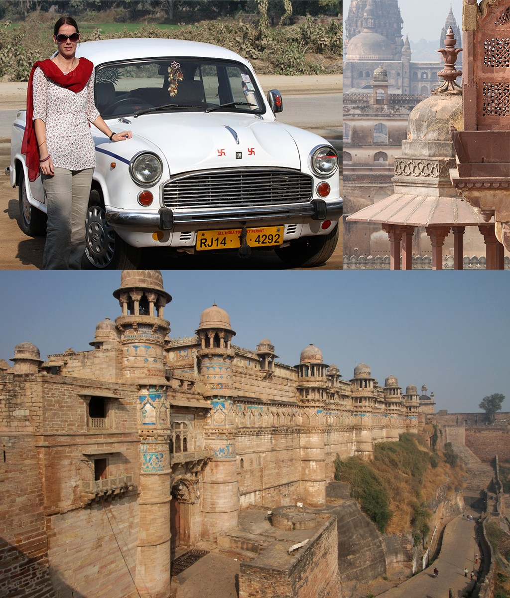 roadtrip India in Ambassador