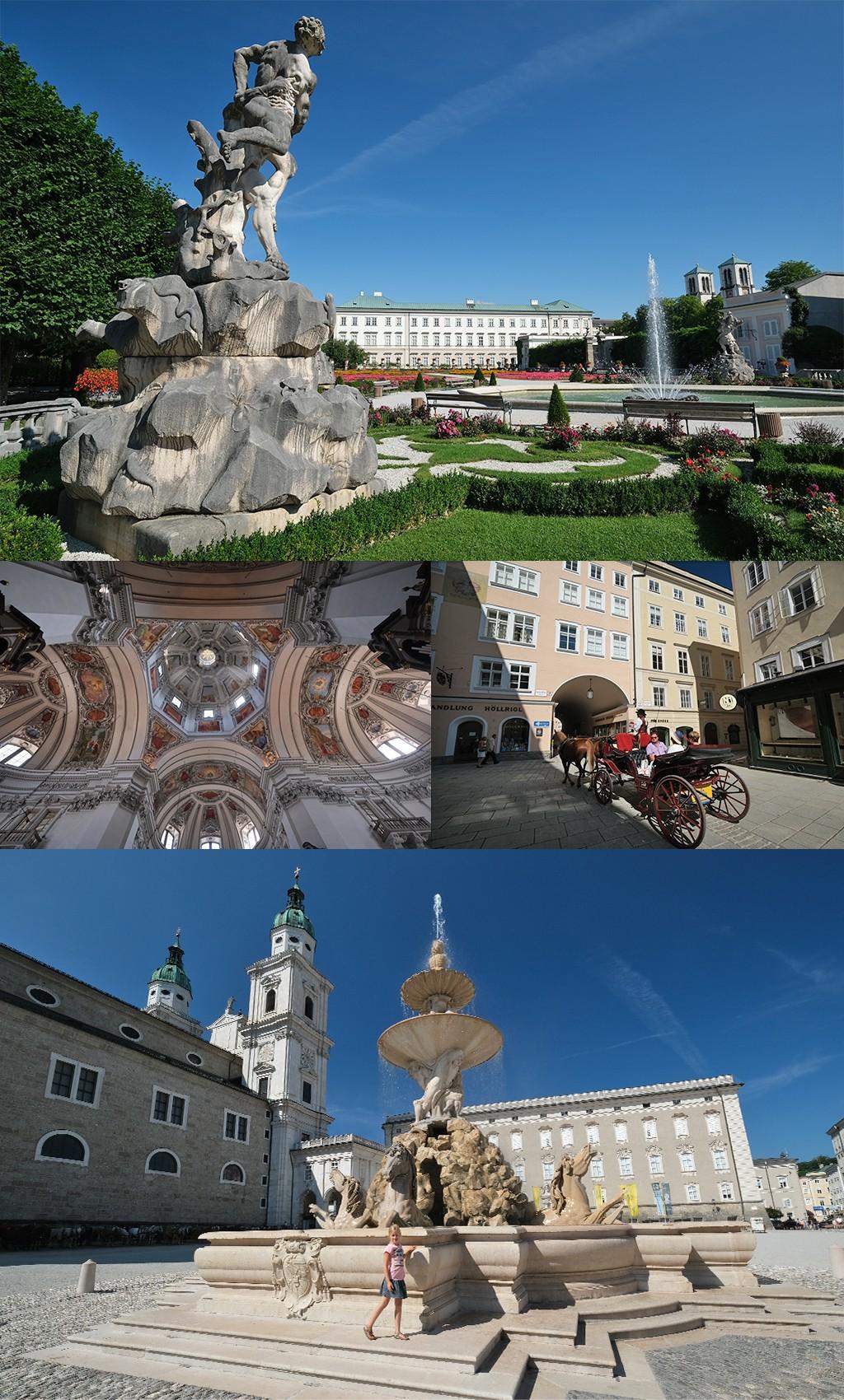 romantisch centrum Salzburg
