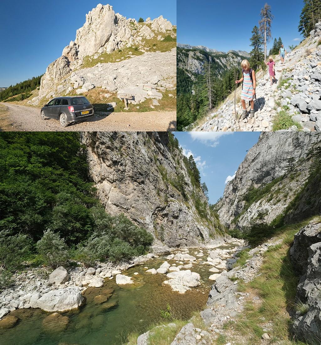 route Bosnië en Herzegovina Sutjeska NP