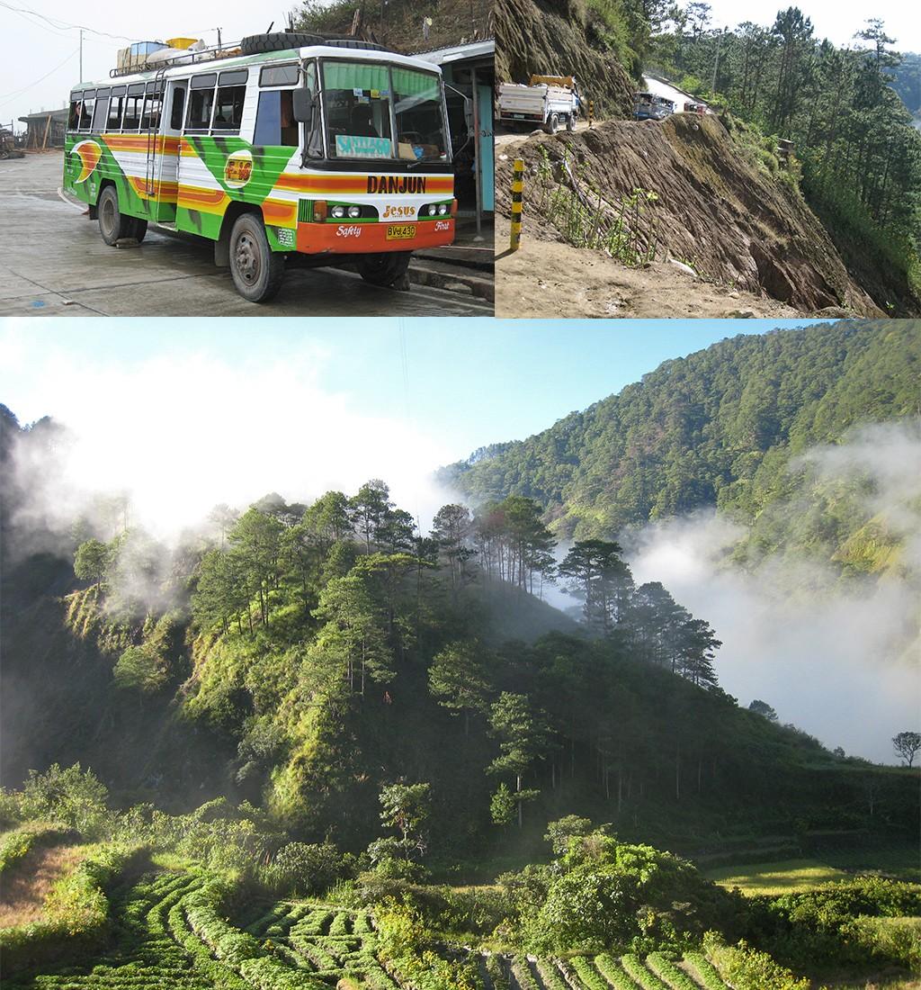 route Luzon Filippijnen