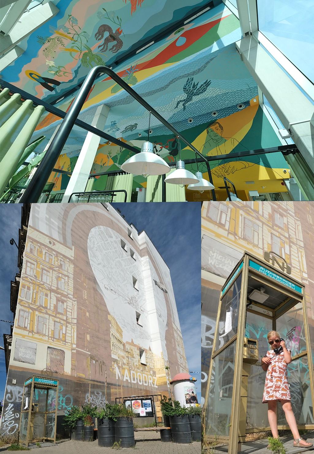 street art rond Wyspa Slodowa