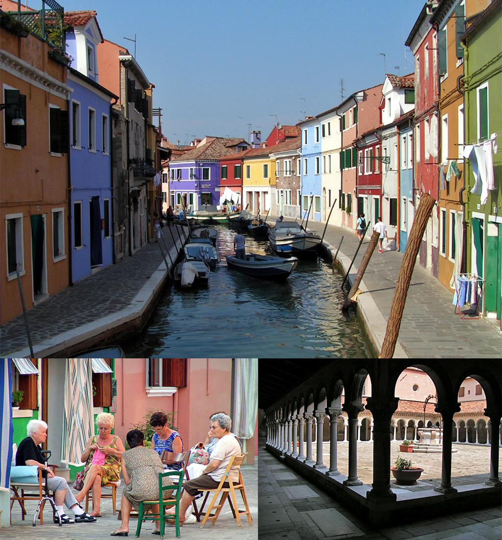 uitstapjes omgeving Venetië - Burano en Torcello