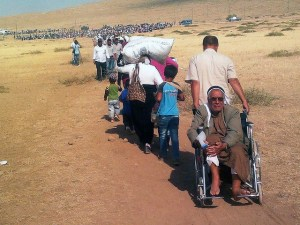 Massive Influx of Syrians into Turkey 2014 photo by European Commission DG ECHO