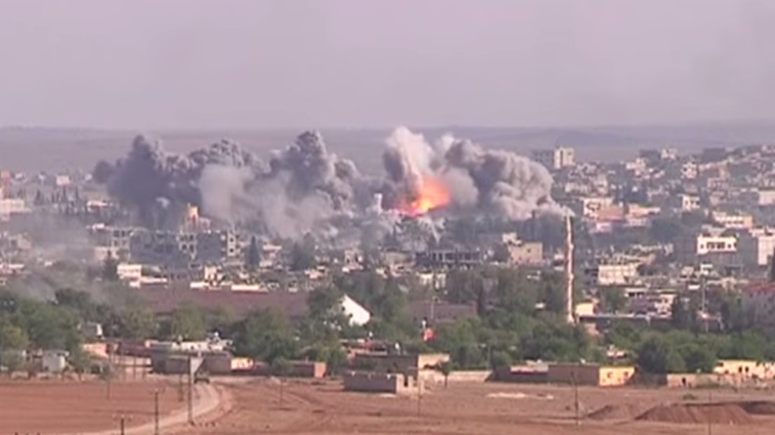 Kobane By Voice of America News [Public domain], via Wikimedia Commons
