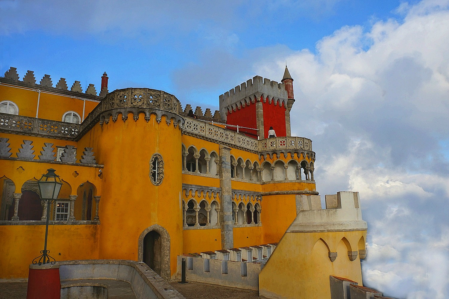 11 Top Reasons to Visit Portugal. Pena Palace should not be missed.