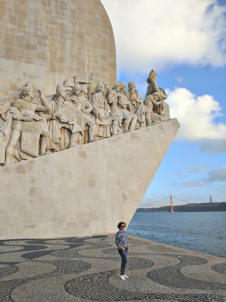11 Top Reasons to Visit Lisbon. Monument of the Discoveries in Lisbon. Portugal's geographical location allowed the explores to travel the world. For the same reason today's travelers can reach the country with ease.