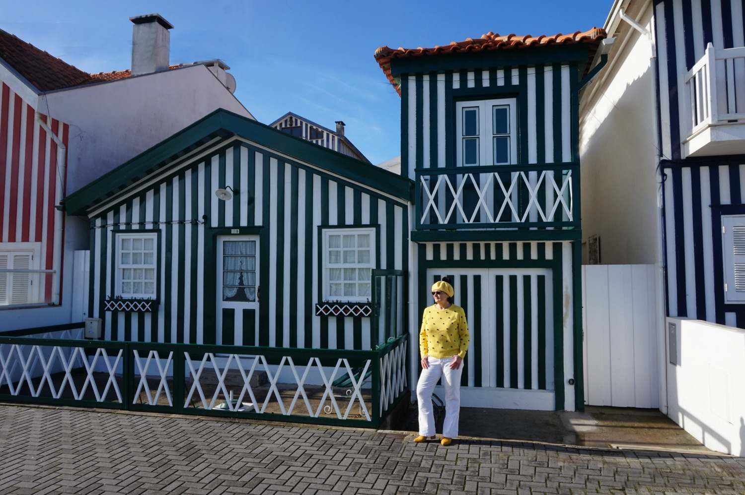Portugal - one week itinerary. Costa Nova is a heaven for Instagram photos!