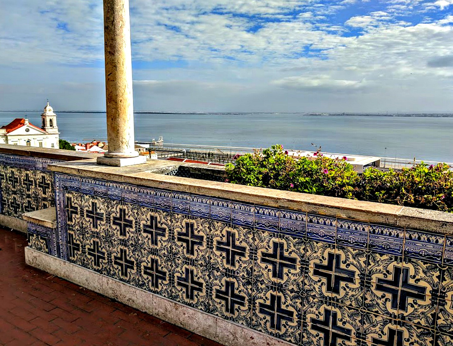 Portugal - one week itinerary. One of the most beautiful locations in Lisbon, Jardim Julio de Castilho, is perfect place to relax and take in the views of the city.