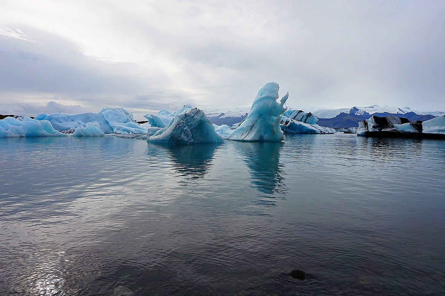 10 top reasons to visit Iceland. Jokulsarlon Glacial Lagoon is a quintessential spot in the South Coat.